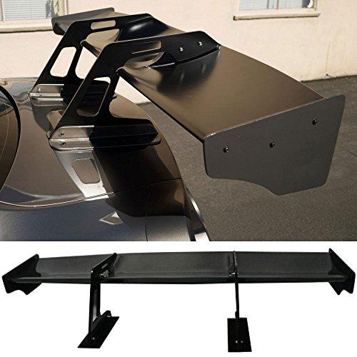 Swan Wing (Fits Nissan GTR GT-R R35 | Swan Neck Trunk Wing Spoiler Carbon Fiber By IKON MOTORSPORTS)