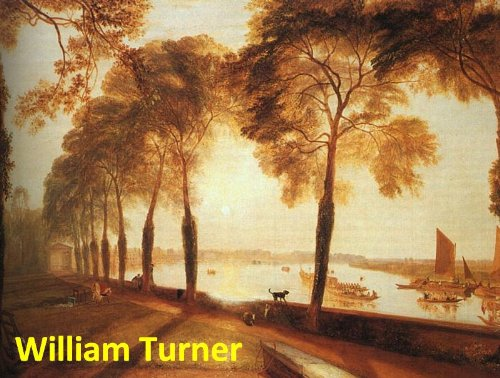 Watercolor William Turner (211 Color Paintings of Joseph Mallord William Turner - English Romantic Landscape Painter (April 23, 1775 - December 19, 1851))