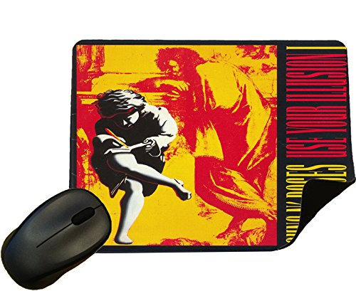 Guns N Roses Use your Illusion 1 Album cover Mouse Mat / Pad - By Eclipse Gift Ideas