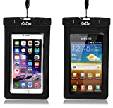 iCellor Waterproof Cell Phone Pouch Bag- For iPhone 7, 7 plus, 6, 6s Plus, Samsung Galaxy S6, S6 Edge S5, Note 4-Dry Cell Phone Bag Fits All Cell Phones/Tablets/iPods/Cameras Upto 7-Inch Sizes