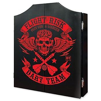 Image of Cabinets Dart World Flight Risk Cabinet with Chalk Scoreboard & Outchart