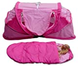 Kidco 18 Inch Pink Doll Tent with Sleeping Bag, Baby & Kids Zone