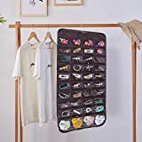 SPIKG Hanging Jewelry Organizer Holder, Storage Bag for Earrings Necklace Bracelet Ring Accessory Display Holder Box