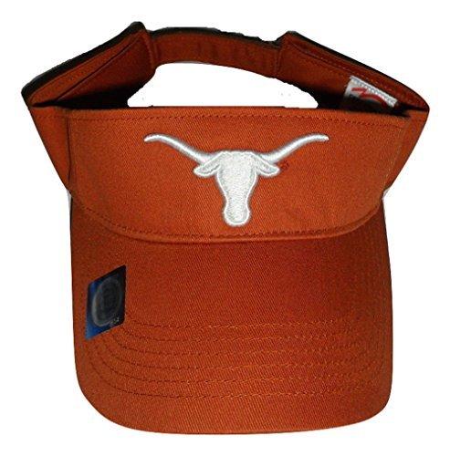 Texas Longhorns Team Logo Visor, Burnt Orange