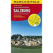 Salzburg Marco Polo City Map