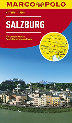 MARCO POLO Cityplan Salzburg 1:15 000 (MARCO POLO Citypläne)