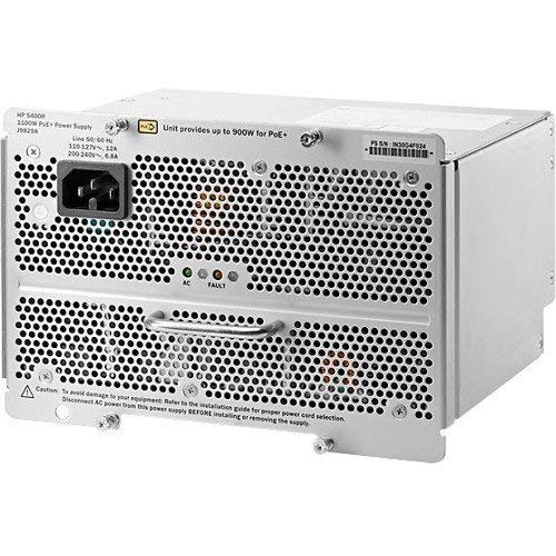 HP Power Supply 5400R 1100W PoE+ zl2 Power Supply J9829A [並行輸入品] B07HRLXKSP
