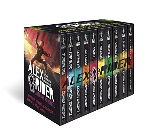 Alex Rider 10 Books Box Set Complete Collection By Anthony Horowitz