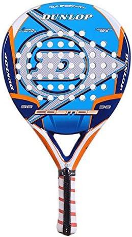 Dunlop Cosmo - Pala de pádel, Color Azul/Blanco/Naranja, 38 mm ...