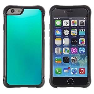 iKiki Tech / Estuche rígido - Blue Wallpaper Light Sky Relaxing Paint - Apple iPhone 6