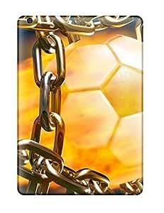 Hot YyHNHLQ5578bZbTN Case Cover Protector For Ipad Air- Football