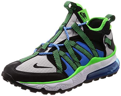 Nike Men's Air Max 270 Bowfin Black/Black/Phantom/Photo Blue Mesh Running Shoes 12 M US