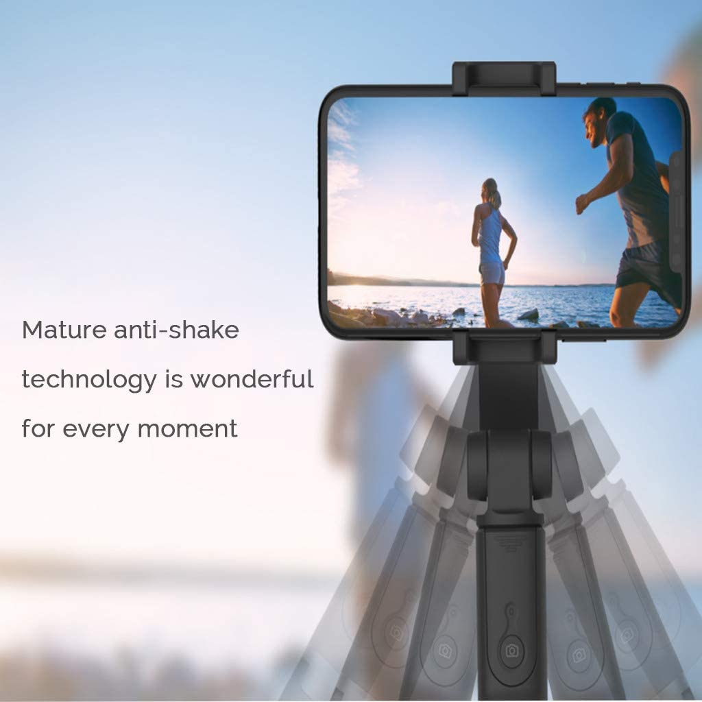 Phone Stabilizer Bracket Intelligent Anti-Shake Head Self-Timer Tripod Sdoveb Single-axis Stabilizer Tripod