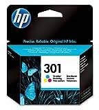 HP CH562EE 301 Original Ink Cartridge, Tri-color, Pack of 1