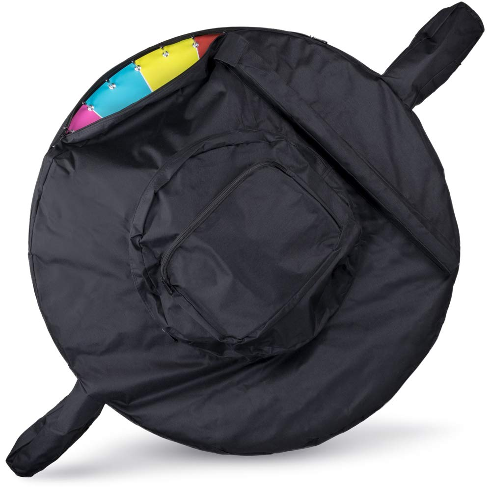 MM Deluxe 36 Inch Prize Wheel Heavy Duty Carrying Bag - Fits Most 36 Inch Wheels with Easels!