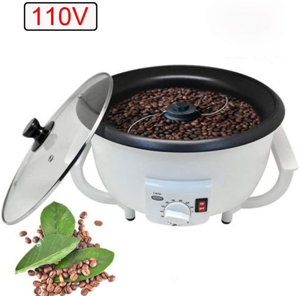 Hengwei Household Coffee Roaster 110V Electric Home Coffee Roaster Household Coffee Bean Roasting Baking Machine, Shipping Fast by DHL