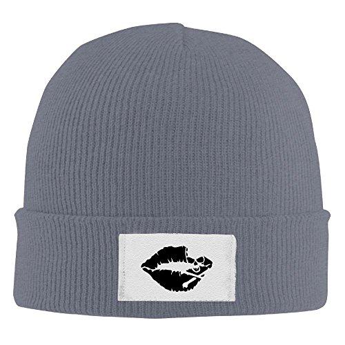 Kiss Mark Skull Lip Beanie Hats Fashion Winter Best Knit Cap Warm (Ward Merchandise)