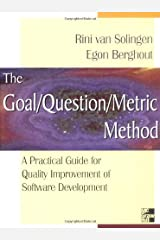Goal/Question/Metric Method : A Practical Guide for Quality Improvement of Software Development Hardcover