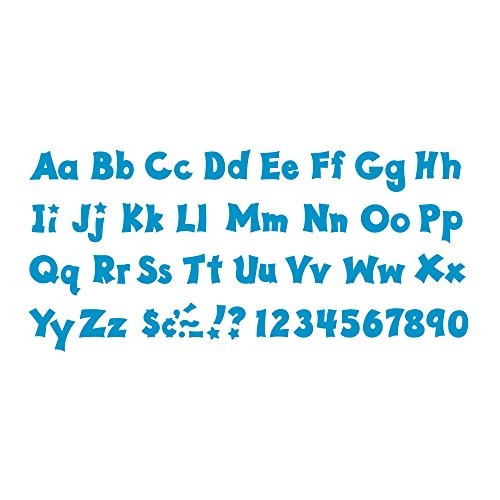 Trend Enterprises Blue 4-Inch Friendly Uppercase/Lowercase Combo Pack Ready Letters (T-79806) Photo #3