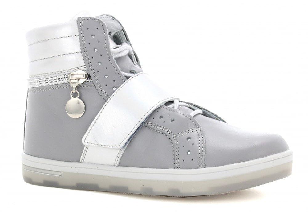 Bartek Girls Leather Shoes Ankle Boots 27376//0A7 Grey Little Kid//Big Kid