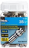 Ideal 89-5048 RG-6 BNC Compression Connector