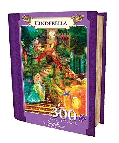 Masterpieces Cinderella Grip Book Box Art by Scott Gustufson Puzzle (300-Piece)