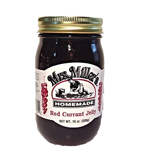 Mrs. Miller's Amish Homemade Red Currant Jelly 18 oz/509g