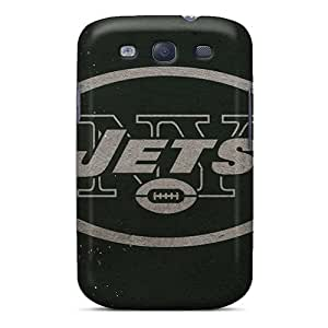 Shock Absorption Hard Cell-phone Case For Samsung Galaxy S3 With Provide Private Custom Nice New York Jets Image DrawsBriscoe