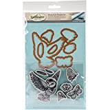 This Stephanie low Owl stamp and die set would make an awesome addition to your die Cutting collection. This set brings both worlds together of die templates and coordinating stamps to give these images life! these cling foam (Eva) rubber sta...