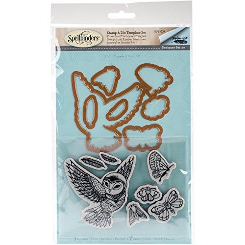 Spellbinders SDS-039 Owl Stamp & Die Set