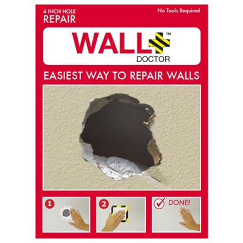 Wall Doctor 857101004808 Kit Drywall Patch, 4