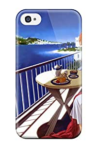 New Fashionable SaundraVillard Lae-5259LuYaVCBD Cover Case Specially Made For Iphone 4/4s(clannad)
