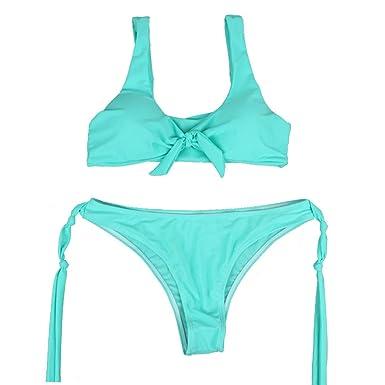 Kimruida Bikini de Dos Piezas Atractivo para Mujeres Conjunto ...