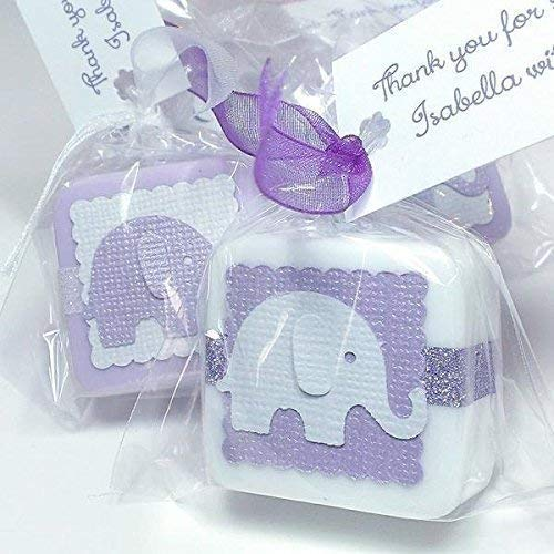 Amazon Com Personalized Elephant Baby Shower Favors Girl Boy Or