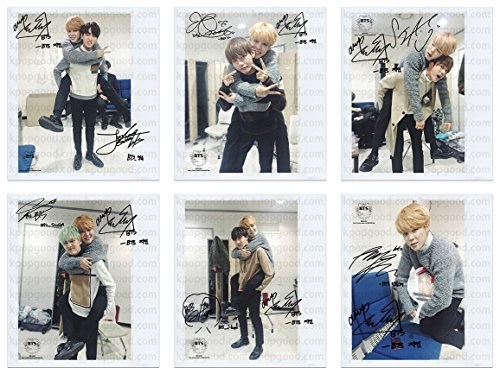 BTS Bangtan Boys Run With Jimin Wide Polaroid Photo - Packages Autographed