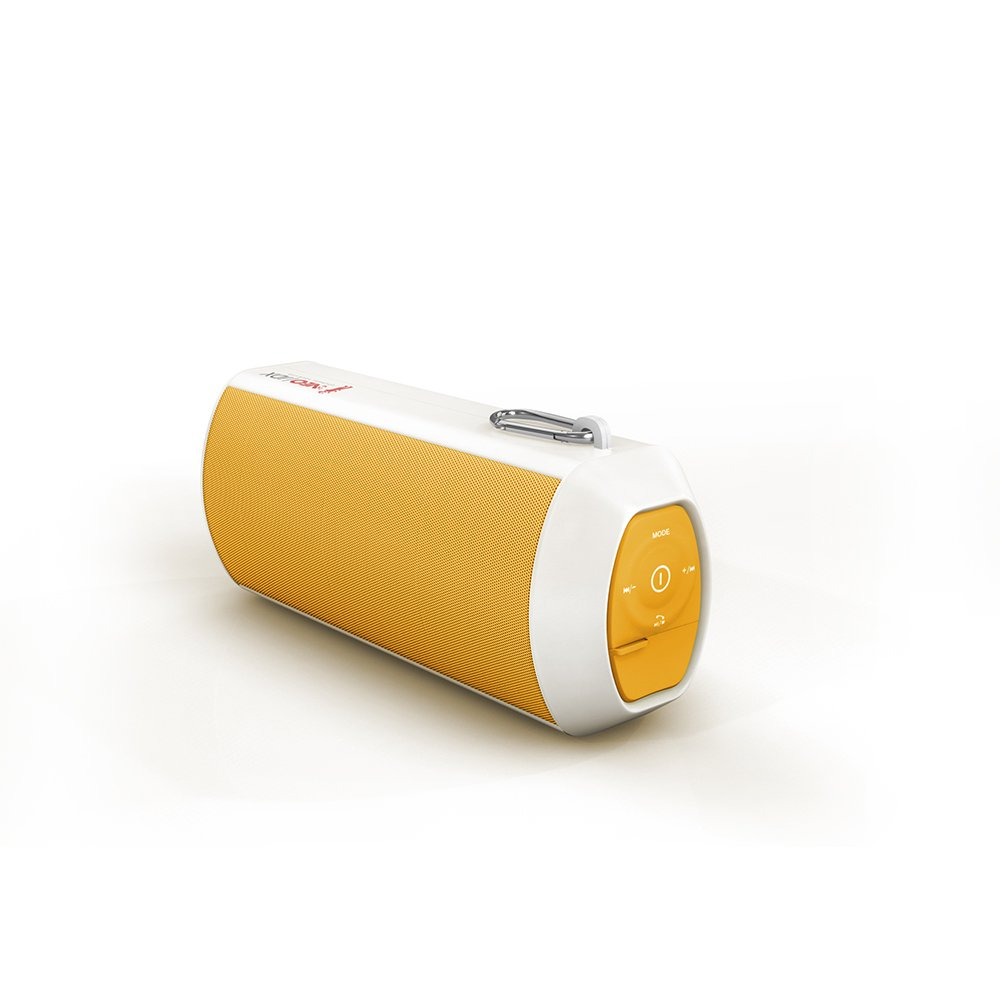 Neojdx Maven 24hr Waterproof Portable Bluetooth Speaker with FM Radio (Orange)