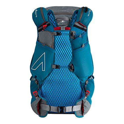 Amazon.com : Ultraspire Epic XT Lightweight Hydration Backpack (Emerald Blue, Universal (Chest Size: 28″-48″)) : Sports & Outdoors