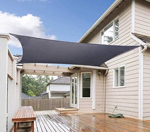 CHENG Toldo 3.5x4.5m, Vela de Sombra Cuadrado, Protección Solar ...