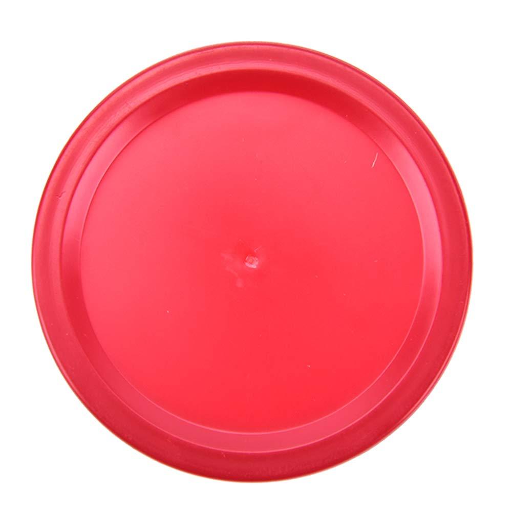 HonXins 20Pcs Durable Mini Air Hockey Table Pucks 51mm Puck Children Table Red
