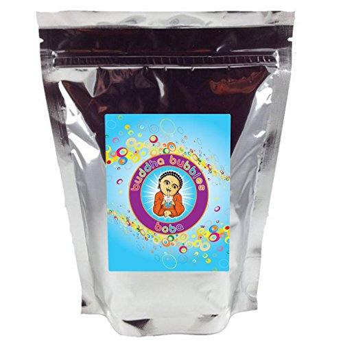 Boba/Black Tapioca Pearls By Buddha Bubbles Boba 1 Kilo (2.2 Pounds) | (1000 Grams)