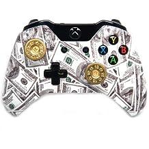 """Money"" Shot Gun Shells Xbox One Rapid Fire Modded Controller 40 Mods for COD BO2, BO3, Advanced Warfare, Destiny, Ghosts Quickscope, Jitter, Drop Shot, Auto Aim, Jump Shot, Auto Sprint, Fast Reload, Much More"