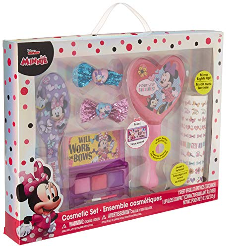 Accessory For Minnie Mouse (TownleyGirl Minnie Mouse Hair and Makeup Set, with Bonus Light Up)