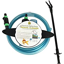 Aquarium Gravel Cleaners [2-Sets] with Reacher Grabber for Small Medium & Large Fish Tanks by Pet Magasin