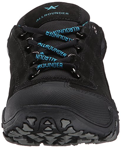 ALLROUNDER by MEPHISTO Womens Fina Tex Sport Shoes Black Rubber/Black Nubuck nnSpk3