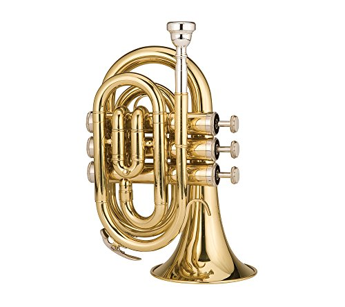 Ravel RPKT1 Pocket Trumpet Brass by Ravel