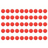 XCSOURCE 50Pcs Round Bullet Ball Refill Compatible Replace Ammo for Nerf Rival Apollo Zeus Kids Toy Gun Blaster Red TH699