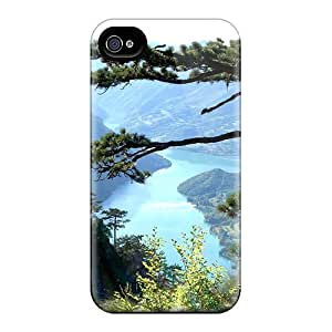 New Arrival Cover Case With Nice Design For Iphone 4/4s- Mountain View
