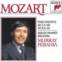 Mozart: Concerto No. 15 & 16 for Piano and Orchestra