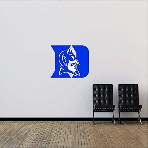 Duke Blue Devils NCAA USA Logo College Sport Art Wall Decor Sticker 25'' x 21''