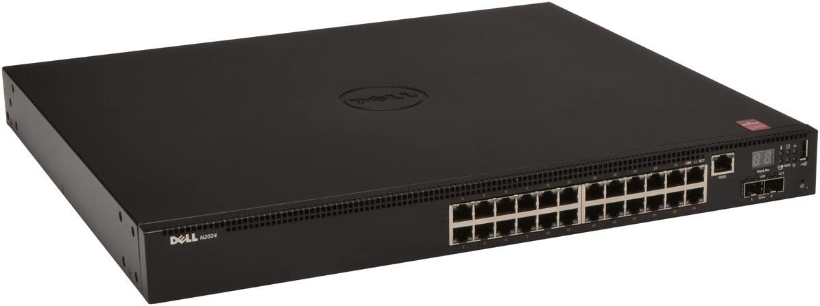 Dell Networking N2024 - Switch - 24 Ports - Managed - Rack-mountable (462-4381)